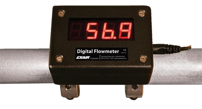 Digital Flow Meter : Digital flowmeter kit for quot pipe good hand uk