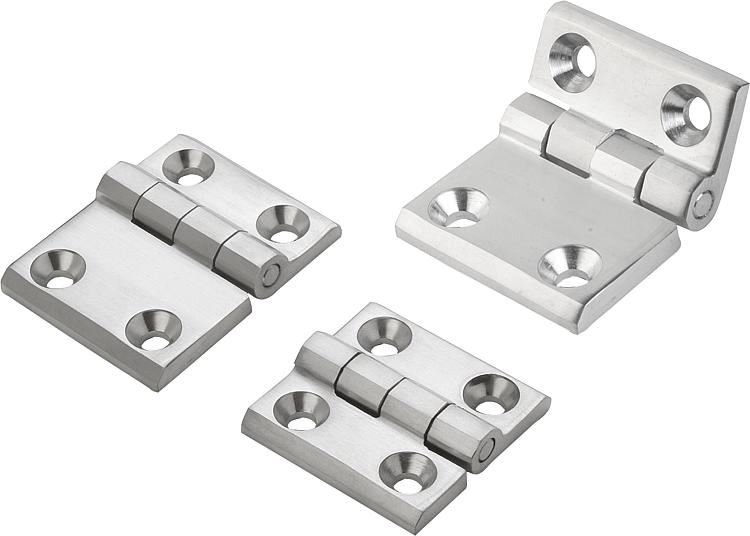 Hinges in Stainless Steel