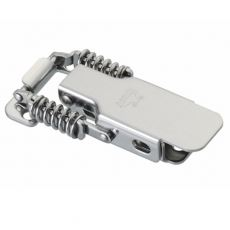 CT-0130 Zinc Plated Spring Loaded Latch With Catch Plate L=99mm