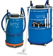 Exair Heavy Duty Dry Vac with HEPA Filter and 208 litre drum