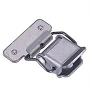 CT 4110 Steel Light Duty Toggle Latch with Natural Finish L=30mm
