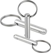 K0365 Locking Pins With Key Ring