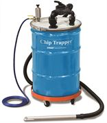 Exair Chip trapper system with 114 litre drum