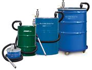 Reversible drum vac pump